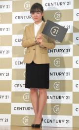 『センチュリー21 新ブランドCM発表会』に出席した伊原六花 (C)ORICON NewS inc.