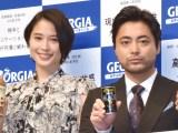 「仕事のやりがい」を語った(左から)広瀬アリス、山田孝之 (C)ORICON NewS inc.