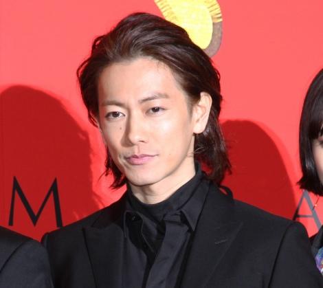 映画『サムライマラソン』完成披露イベントに出席した佐藤健 (C)ORICON NewS inc.
