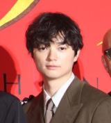 映画『サムライマラソン』完成披露イベントに出席した染谷将太 (C)ORICON NewS inc.