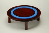 ちゃぶ台の上で遊べるサイズで設計されたレール(C)TOMY