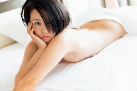サムネイル 『FLASH』に登場したmisino(C)光文社/週刊FLASH(写真/藤本和典)