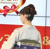 ハーゲンダッツ ジャパン35周年&新CM発表会に出席した中条あやみ (C)ORICON NewS inc.