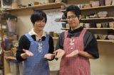 『声優男子ですが…?』シーズン4最終話の収録に臨んだ(左から)梅原裕一郎、白井悠介 (C)ORICON NewS inc.