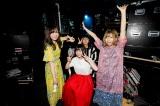 赤い公園の新ボーカルは元アイドルネッサンスの石野理子(前列中央) Photo by Hajime Kamiiisaka