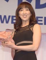 『第30回 日本ジュエリー ベストドレッサー賞』の授賞式に出席した紫吹淳 (C)ORICON NewS inc.