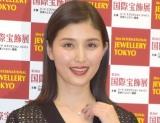 『第30回 日本ジュエリー ベストドレッサー賞』の授賞式に出席した橋本マナミ (C)ORICON NewS inc.