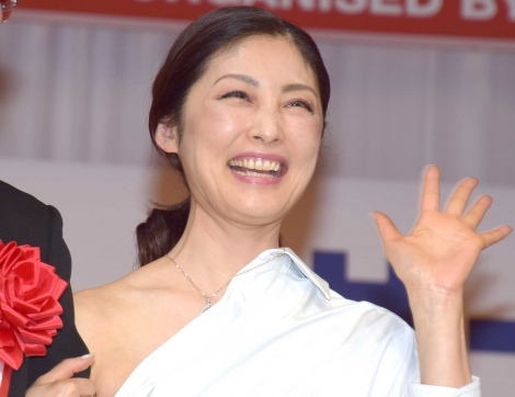 『第30回 日本ジュエリー ベストドレッサー賞』の授賞式に出席した常盤貴子 (C)ORICON NewS inc.