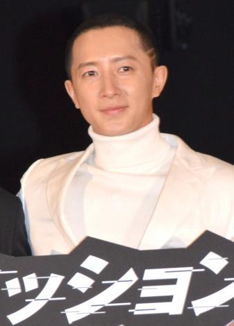 映画『サイバー・ミッション』初日舞台あいさつに登壇したハンギョン (C)ORICON NewS inc.