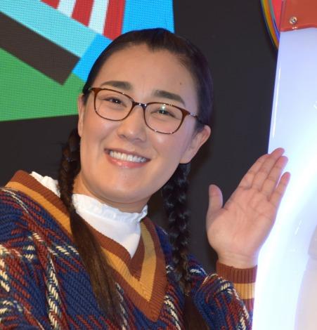 白鳥久美子=JAEPO2019セガ『maimaiでらっくす』ステージ (C)ORICON NewS inc.