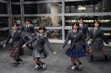 『3年A組—今から皆さんは、人質です—』と日本テレビアナウンサーがコラボ 朝礼体操にチャレンジ (C)日本テレビ