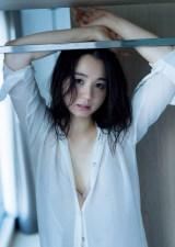 『週刊プレイボーイ』6号に登場する小池里奈(C)LUCKMAN/週刊プレイボーイ
