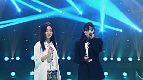 『Mステ』3時間スペシャルでZARD坂井泉水さん(右)と倉木麻衣のデュエットが実現(C)テレビ朝日
