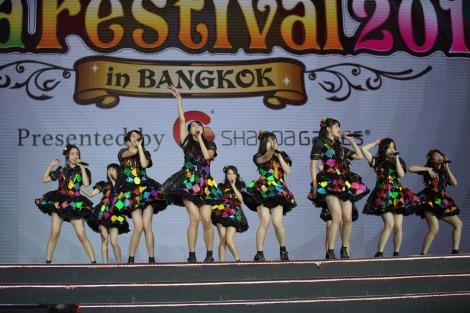 JKT48=タイ・バンコクで初開催された『AKB48 Group Asia Festival 2019』より(C)AKS
