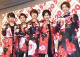 嵐(左から)松本潤、大野智、櫻井翔、二宮和也、相葉雅紀 (C)ORICON NewS inc.