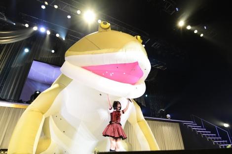 ソロコンサートを行ったAKB48・矢作萌夏 (C)AKS