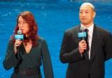 映画『アクアマン』のジャパンプレミアイベントに出席した(左から)LiLiCo 、関口メンディー (C)ORICON NewS inc.