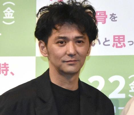 映画『母を亡くした時、僕は遺骨を食べたいと思った。』完成披露試写会に出席した村上淳 (C)ORICON NewS inc.