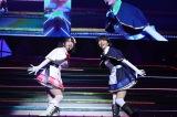 『ミルキィホームズ ファイナルライブ Q.E.D.』に出演した(左から)伊藤彩沙、愛美
