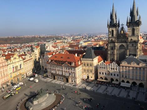 2月3日放送の『吉田羊、プラハ・ウィーンへ ヨーロッパに嫁いだなでしこ物語』プラハ旧市街(C)読売テレビ