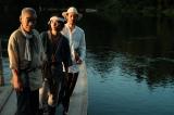 映画『ある船頭の話』より、柄本明、村上虹郎、オダギリジョーが集結(C)2019「ある船頭の話」製作委員会