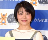 『かんぽ Eat & Smile プロジェクト-漢方ダイニング-』オープニングイベントに出席した森崎友紀 (C)ORICON NewS inc.