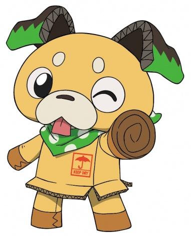 『ハロプラ』とアニメ『ポチッと発明 ピカちんキット』がコラボ ポチロー(C)PIKACHIN(C)創通・サンライズ