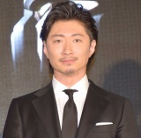 ガンダム40周年コラボレーション商品の発表会に出席したEXILE MAKIDAI (C)ORICON NewS inc.