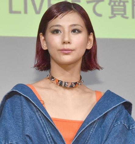 SNSでのライブ配信を希望した西内まりや=『RUMOR ME』ローンチパーティ (C)ORICON NewS inc.
