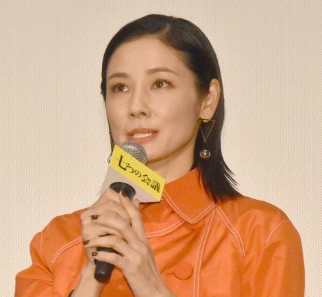 映画『七つの会議』公開初日舞台あいさつに出席した吉田羊 (C)ORICON NewS inc.