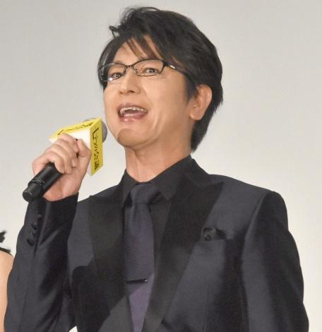 映画『七つの会議』公開初日舞台あいさつに出席した及川光博 (C)ORICON NewS inc.
