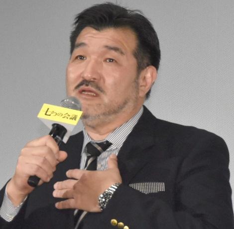 映画『七つの会議』公開初日舞台あいさつに出席した福澤克雄 (C)ORICON NewS inc.