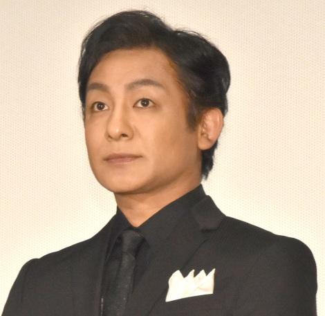 映画『七つの会議』公開初日舞台あいさつに出席した片岡愛之助 (C)ORICON NewS inc.