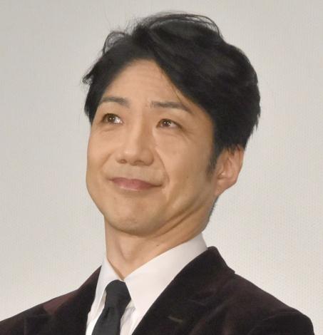 映画『七つの会議』公開初日舞台あいさつに出席した野村萬斎 (C)ORICON NewS inc.