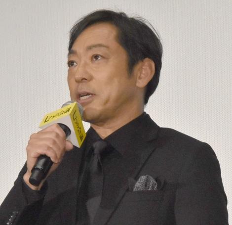 映画『七つの会議』公開初日舞台あいさつに出席した香川照之 (C)ORICON NewS inc.