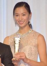 『K-1 AWARDS(アウォーズ)2018』の表彰式に出席した高橋ユウ (C)ORICON NewS inc.