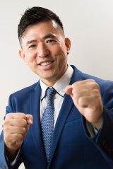 『頭に来てもアホとは戦うな!』原作者の田村耕太郎 (C)朝日新聞出版写真部・小原雄輝