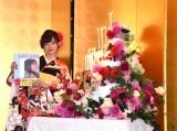 2月3日に20歳の誕生日を迎え、都内で記者会見を行った橋本環奈 豪華なバースデーケーキも登場 (C)ORICON NewS inc.