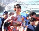 東京・赤坂日枝神社で行われた『節分祭』に参加した井本彩花 (C)ORICON NewS inc.