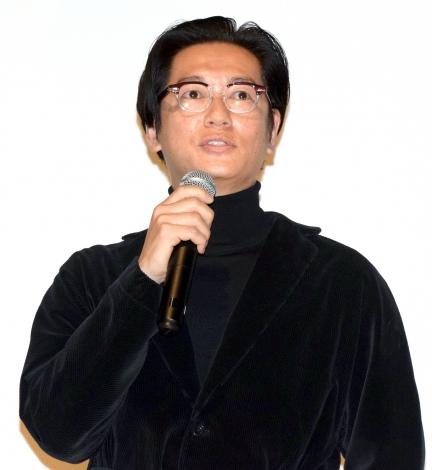 映画『赤い雪 Red Snow』の舞台あいさつに出席した井浦新 (C)ORICON NewS inc.