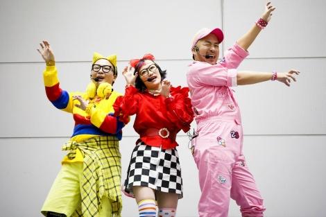 3人組ユニット・POP MONSTERが「やっとここまで」を披露