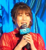 映画『アクアマン』アンバー・ハード来日スペシャルイベントに登壇した吉田沙保里 (C)ORICON NewS inc.