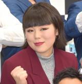 『ワタナベお笑いNo.1決定戦2019』決勝組み合わせ抽選会に出席したブルゾンちえみ (C)ORICON NewS inc.