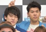 『ワタナベお笑いNo.1決定戦2019』決勝組み合わせ抽選会に出席した土佐兄弟 (C)ORICON NewS inc.