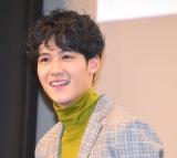 映画『ねことじいちゃん』完成披露試写会に出席した葉山奨之 (C)ORICON NewS inc.