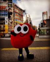 Nissyのマスコットキャラクター「Lippy」が渋谷にサプライズ登場