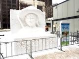 連続テレビ小説で初めて『第70回さっぽろ雪まつり』の雪像になったヒロイン、『なつぞら』(4月1日スタート)のなつ (C)ORICON NewS inc.