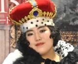 王様の冠をかぶって登場したゆりやんレトリィバァ=映画『女王陛下のお気に入り』直前イベント (C)ORICON NewS inc.