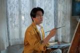 連続テレビ小説『まんぷく』画家の香田忠彦を演じる要潤(C)NHK