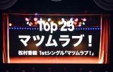 ソロデビュー曲「マツムラブ!」を披露=『かおたんのSKE48リクエストアワーセットリストベスト25』 (C)ORICON NewS inc.